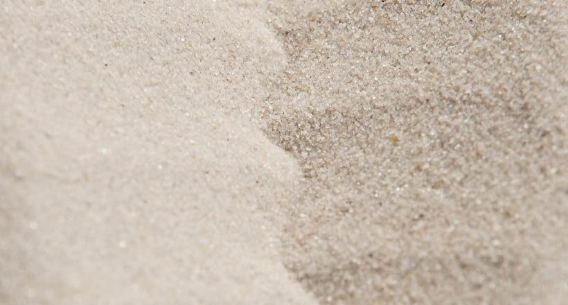 Prírodný kremičitý piesok 0,1 – 0,5 mm