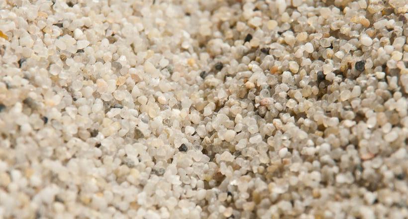 Prírodný kremičitý piesok 0,8 – 1,2 mm