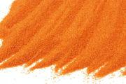 Barevný písek - jasně oranžová KS 2/35