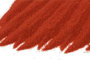 křemičitý barevný písek červený