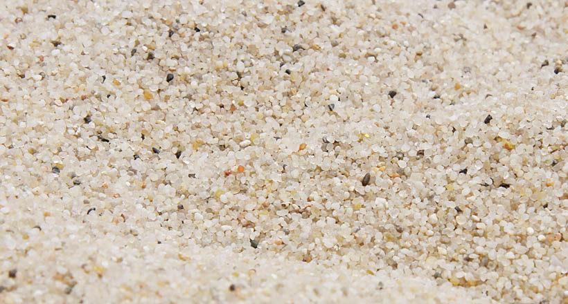 Prírodný kremičitý piesok 0,2 – 2,0 mm